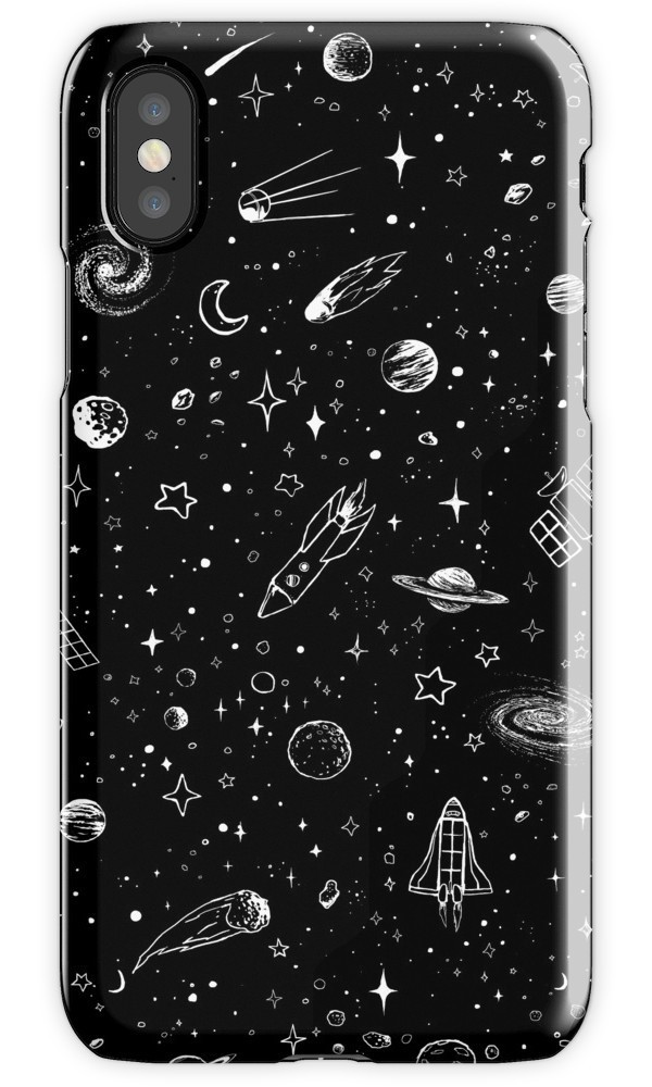 ★RED BUBBLE★ Space iPhoneケース 関税込・送料無料
