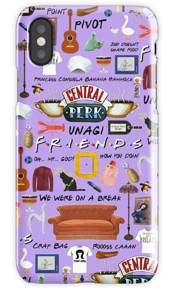 ★RED BUBBLE★ Friends Collage iPhoneケース 関税込・送料無料