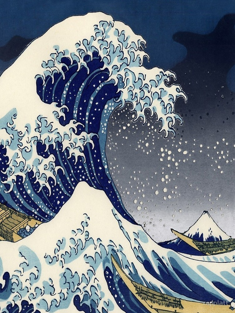★RED BUBBLE★ Great Wave iPhoneケース 関税込・送料無料
