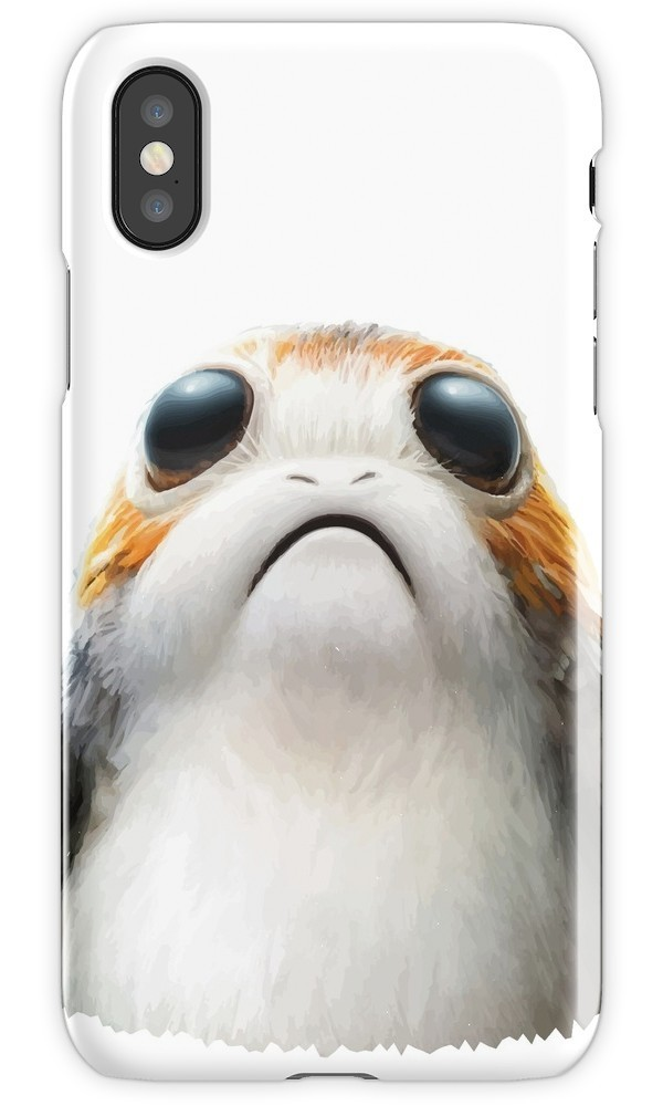 ★RED BUBBLE★ The Last Porg iPhoneケース 関税込・送料無料