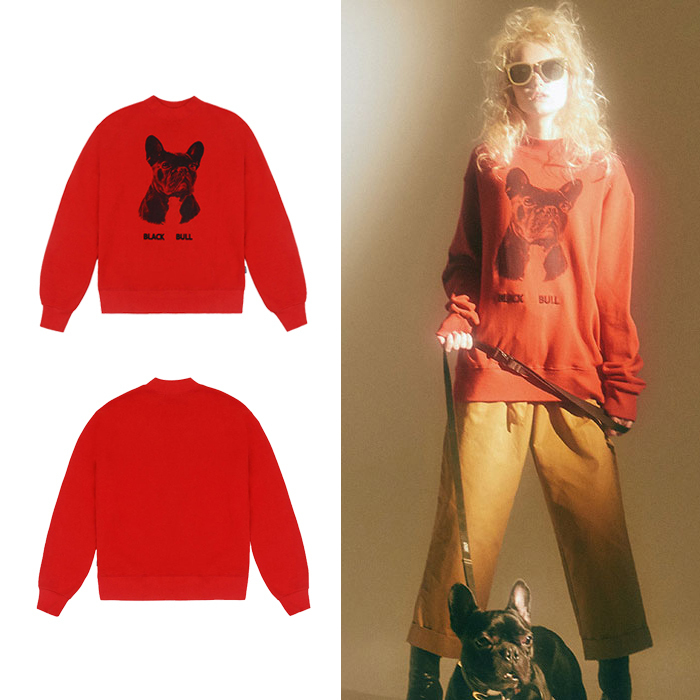 ★CHARM'S★日本未入荷 トレーナー Charms face sweatshirt RED