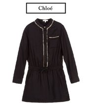 Chloe ♥ Mini Me Black&Gold ビーズドレス