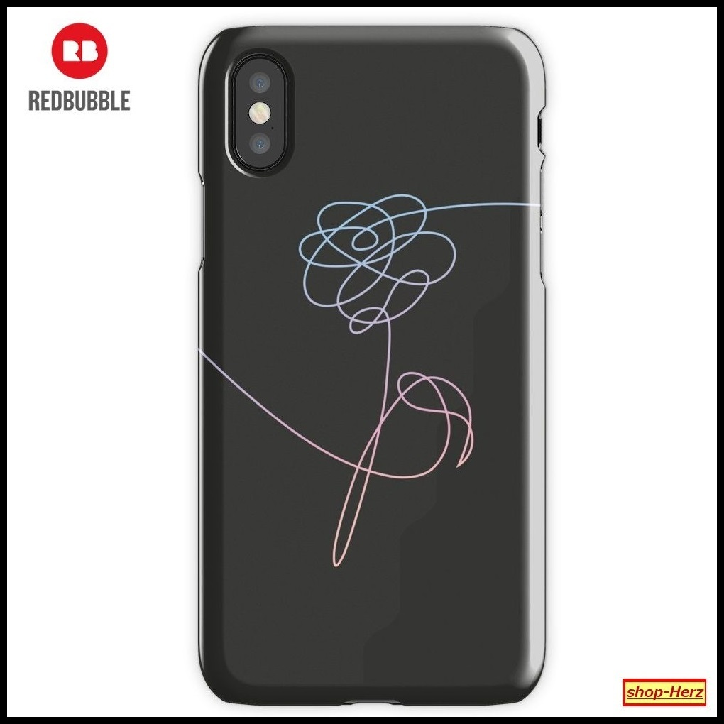 ★RED BUBBLE★ BTS LOVE FLOWER iPhoneケース 関税込・送料無料