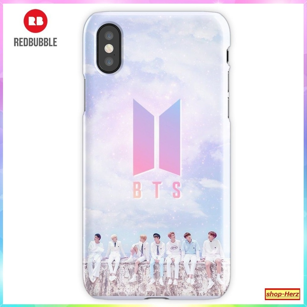 ★RED BUBBLE★ BTS Greeting iPhoneケース 関税込・送料無料