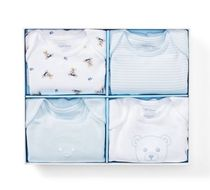 新作♪国内発送 Bodysuit 4-Piece Gift Set boys 0~24M
