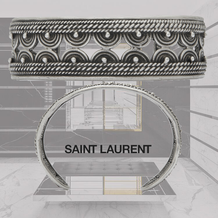 【送料込】18SS★SAINT LAURENT★MARRAKECH バングル