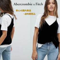 Abercrombie&Fitch☆ベルベットキャミソール♪