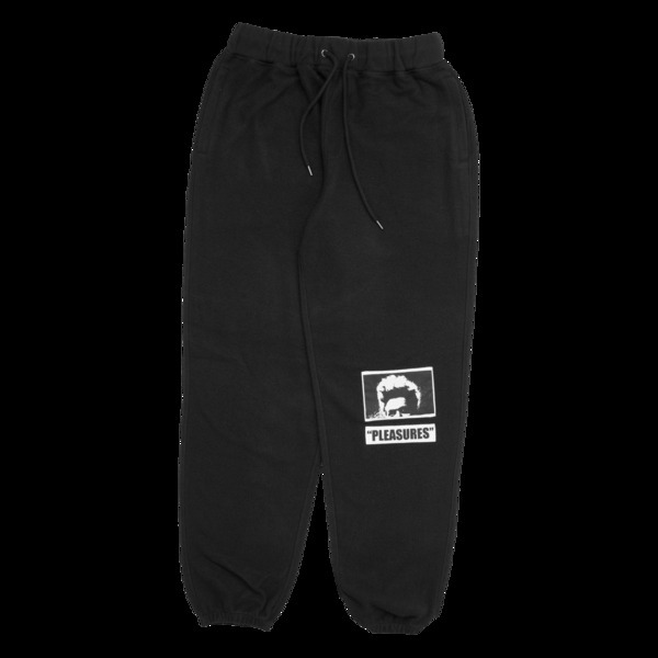 Wiz Khalifa愛用 PLEASURES MADNESS REVERSE FLEECE SWEATPANTS