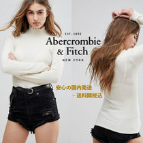 Abercrombie&Fitch☆フリルロールネックトップ♪