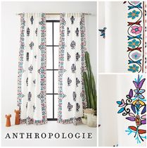 ANTHROPOLOGIE☆Embroidered Esther Curtain☆ 税送込