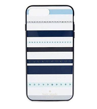 【ケイトスペード】Jeweled Stripe iphone7/8 plus