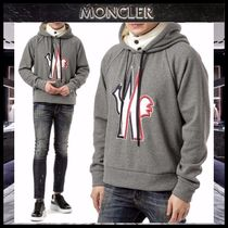 【MONCLER】17AW GRENOBLE フロントポイントパーカー GRAY/EMS