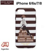 HENRI BENDEL★Megan Hess★Hat Box Girl★iPhone 7/8 ケース