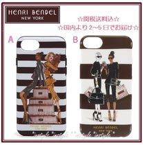 国内発送☆Henri Bendel Megan Hess☆iPhone6/6S/7/8ケース