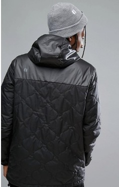 Armada Gremiln Quilted PufferジャケットHooded