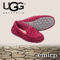 ★UGG★星柄が可愛い★Sheepskin Slippers(18cm~22.5cm)