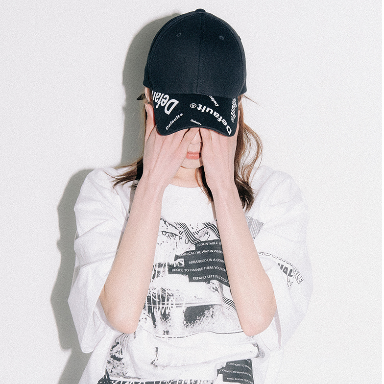 【default】DEFAULT PRINTING キャップ (2 color) - UNISEX