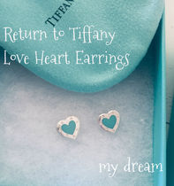 【Tiffany&Co】Return to Tiffany Love Heart Earrings