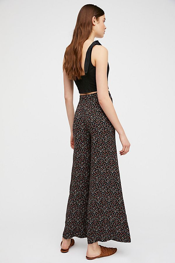 Free People フリーピープル Easy Peasy Printed パンツ