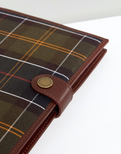 Barbour Tartan Notebook Cover バブアー ノート カバー A5