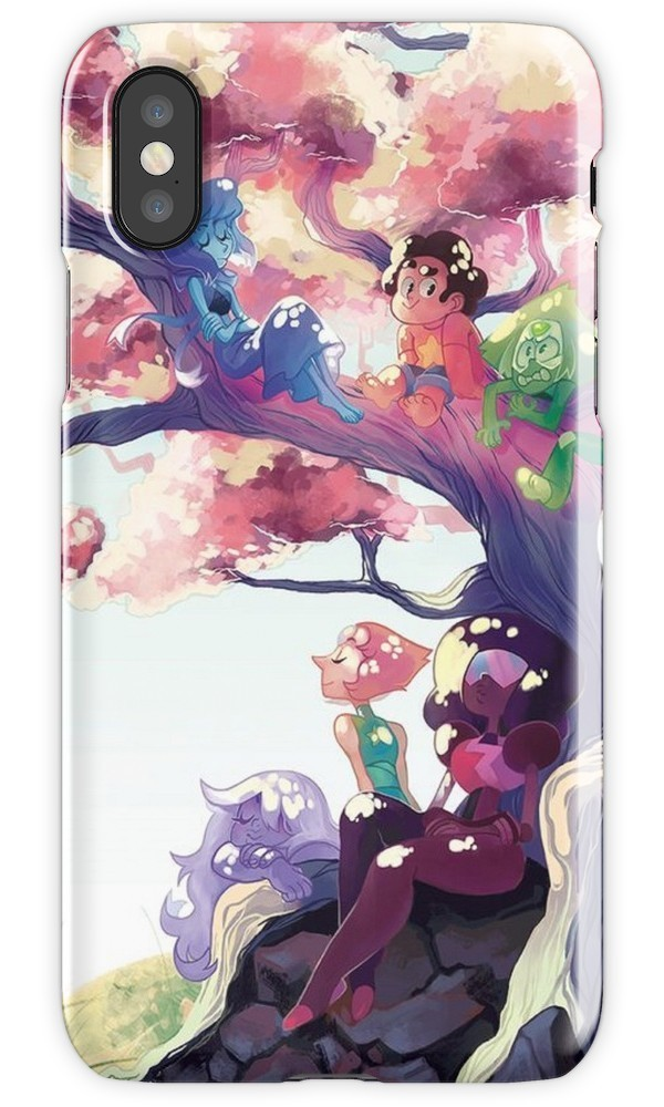 ★RED BUBBLE★ Crystal Gems iPhoneケース 関税込・送料無料