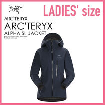 即納★ARC'TERYX レインウエア ALPHA SL JACKET WOMEN'S ★15180