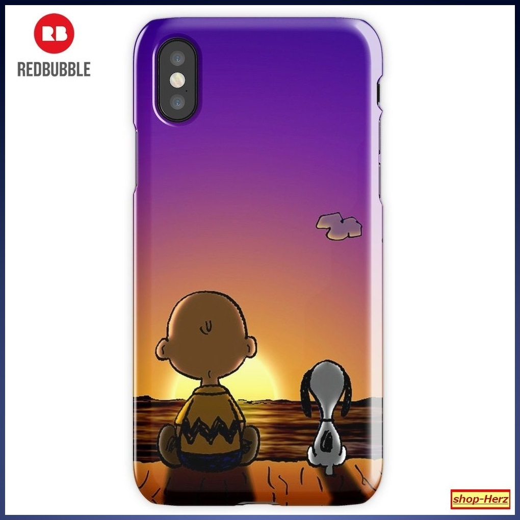 ★RED BUBBLE★ Snoopy Charlie iPhoneケース 関税込・送料無料