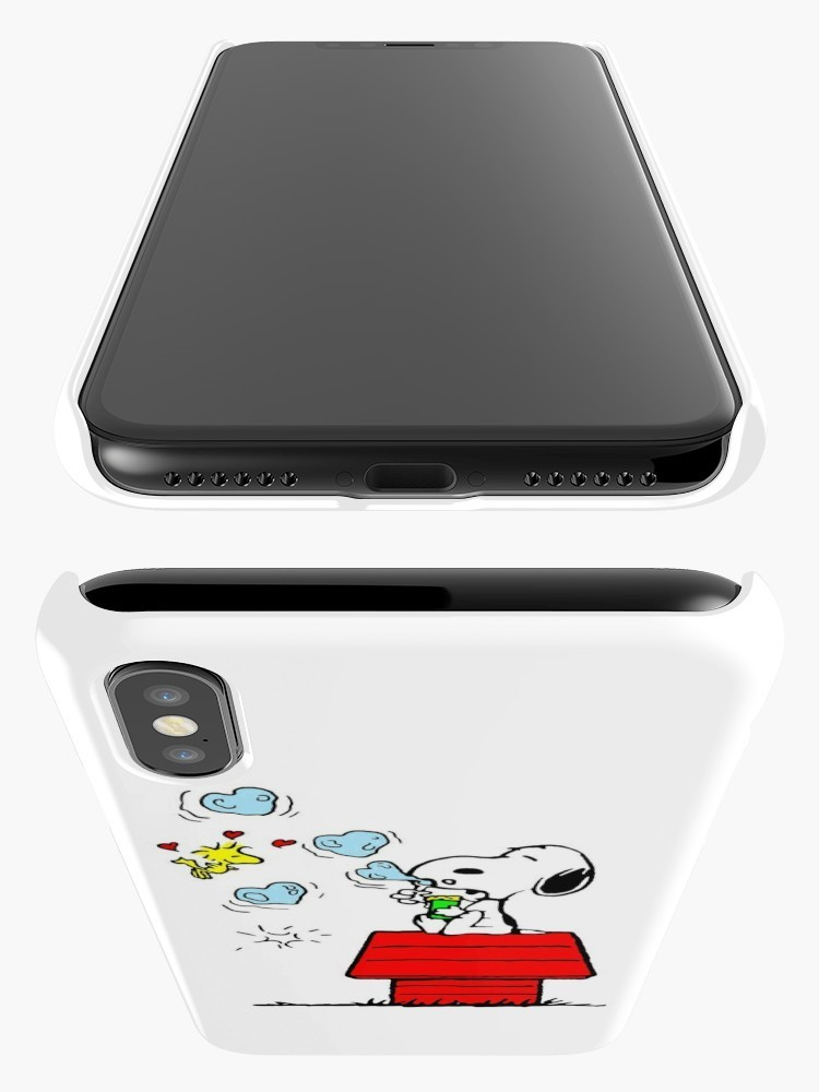 ★RED BUBBLE★Snoopy Woodstock iPhoneケース 関税込・送料無料
