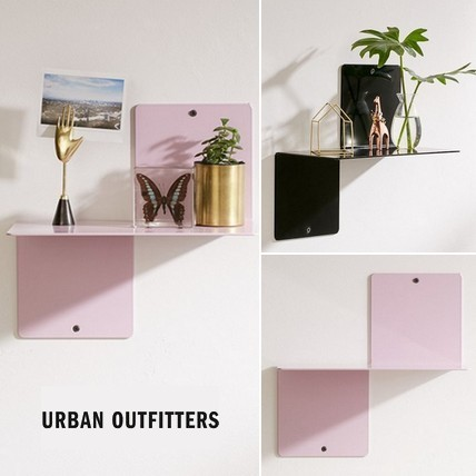 ☆Urban Outfitters *増やせる*モダン*メタル飾り棚/2色☆送関込
