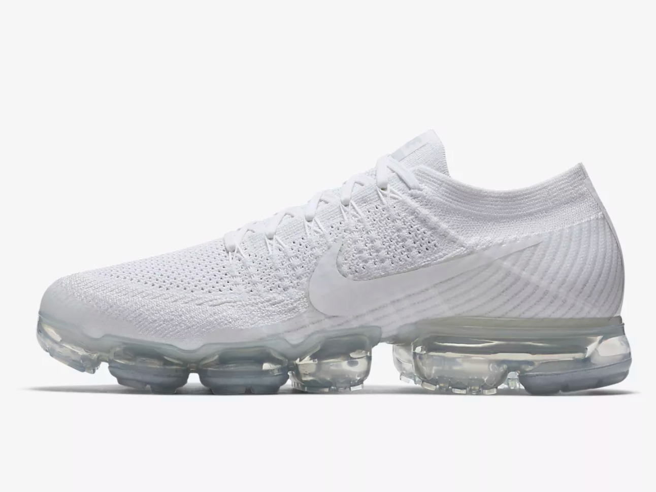 NIKE AIR VAPORMAX FLYKNIT White Men's Running Shoe ナイキ