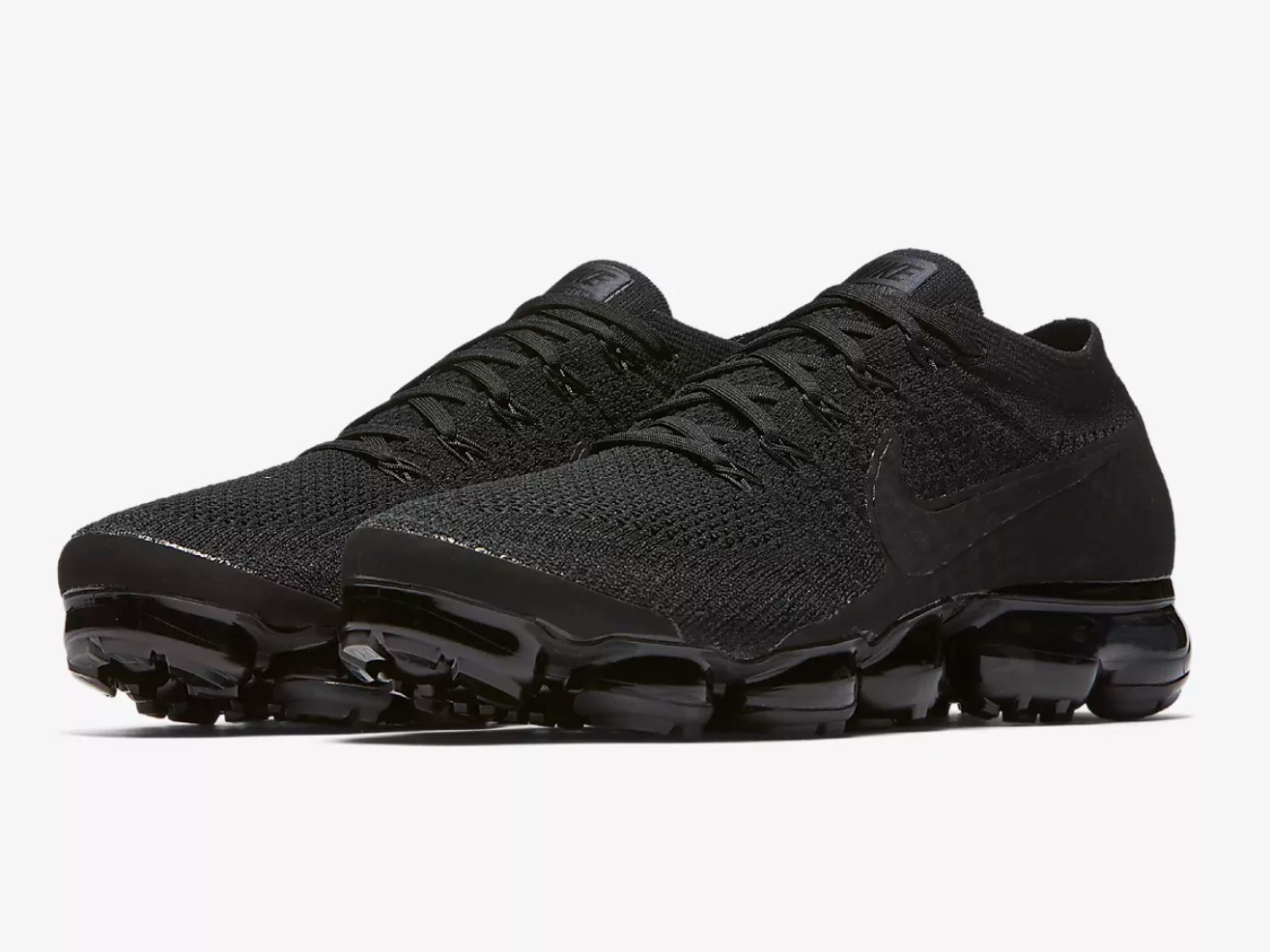 NIKE AIR VAPORMAX FLYKNIT Black Men's Running Shoe ナイキ