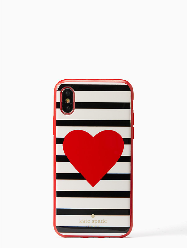 ☆ケイトスペード・heart stripe iPhone x case ☆