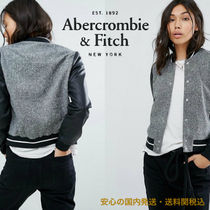 Abercrombie&Fitch☆コントラストスリーブボーイズボンバー♪