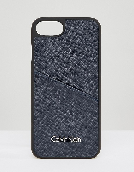 ★Calvin Klein★カード収納付き♪iPhone6/6s/7/8ケース 1135186