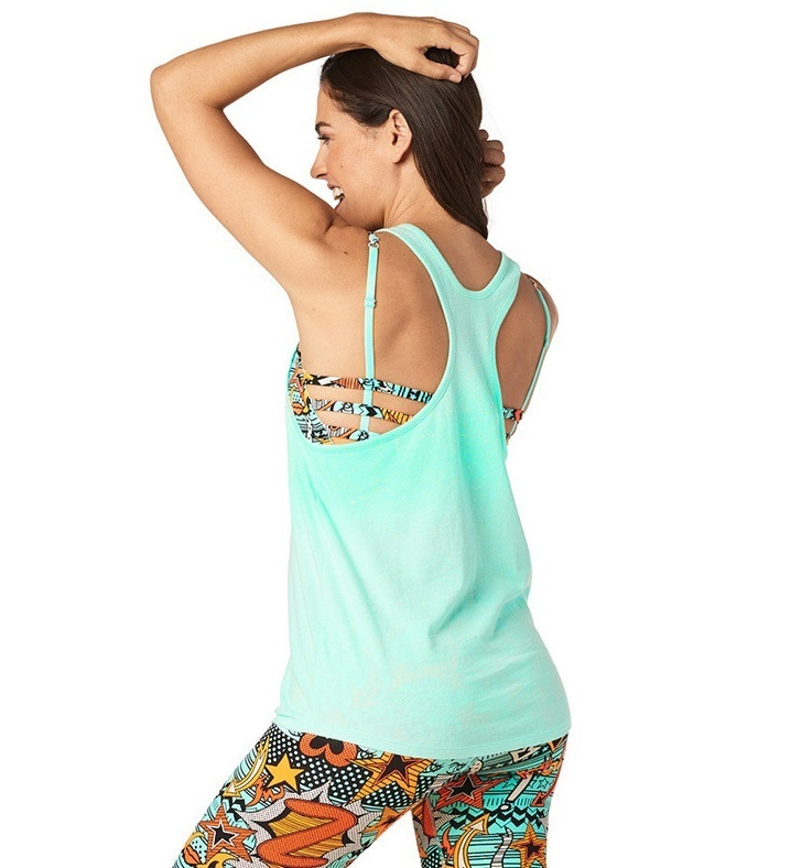 H30.1月【ZUMBA】Everyone Is A Superhero Loose Tank Z1T01396
