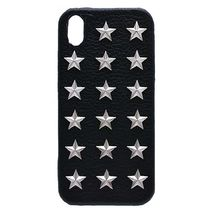 最新iPhoneに★超人気 enchanted.LA STAR STUDDED LEATHER COVER
