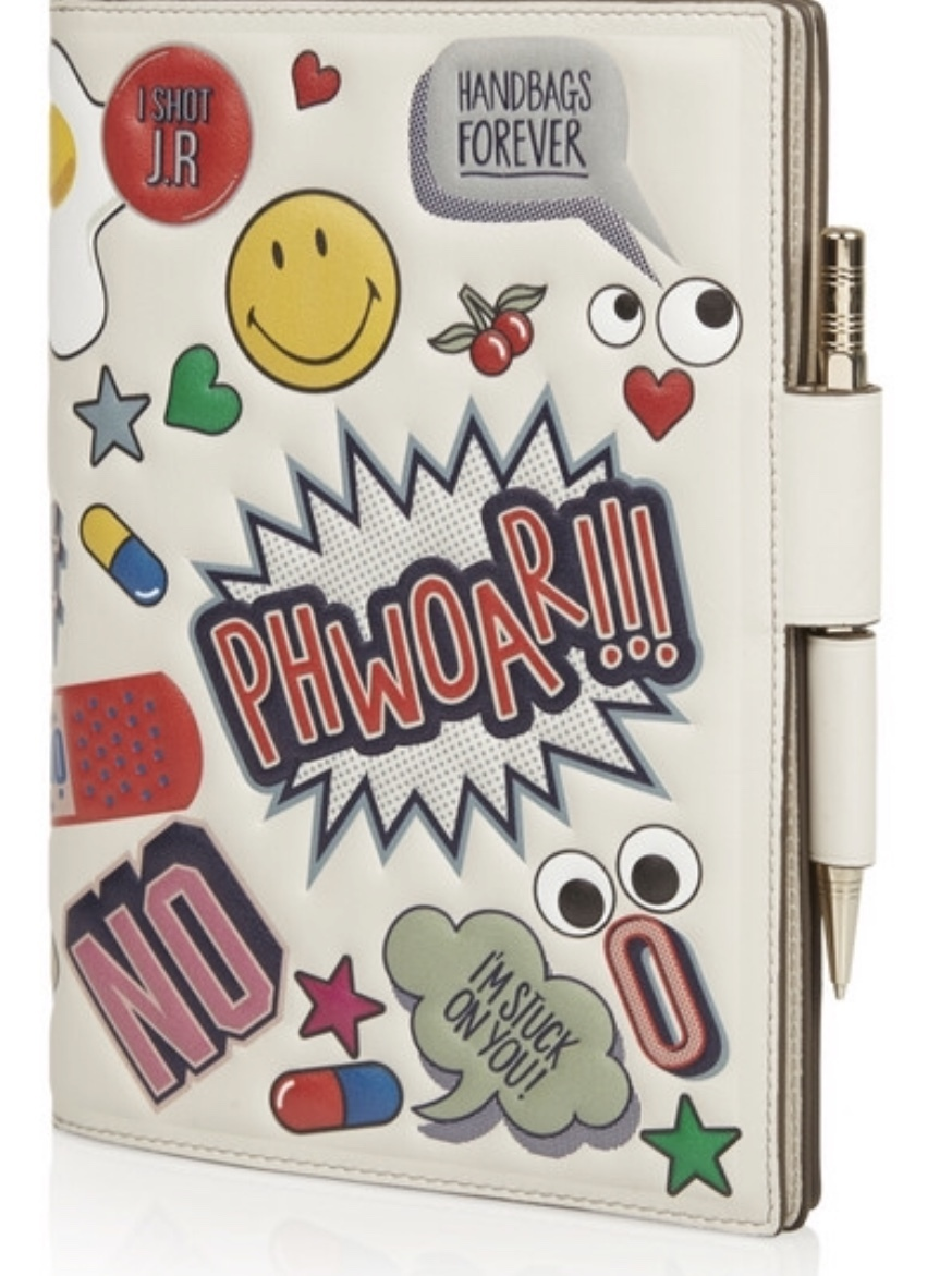 完売続出!Anya Hindmarch 'All-Over sticker journal A5サイズ