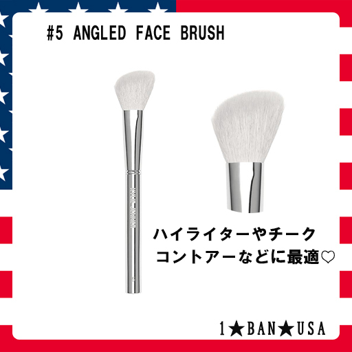 KYLIE COSMETICS☆#5 ANGLED FACE BRUSH☆パウダーブラシ #5