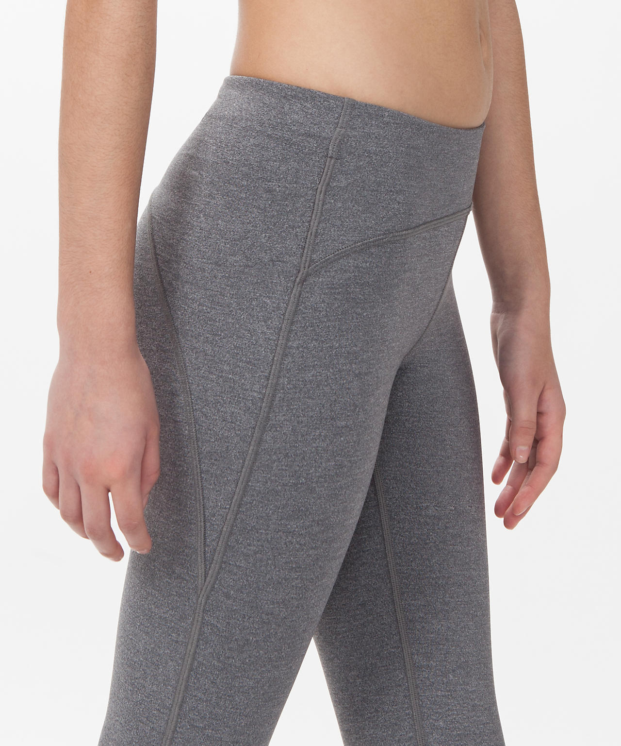 【 Let's Glow Places Pant 】★ Heathered Coal