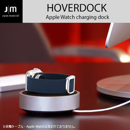 Apple Watch 充電スタンド Just Mobile HoverDock charging dock