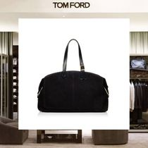 【18SS NEW】 TOM FORD_men /DOUBLE FACE ボストンバッグBK