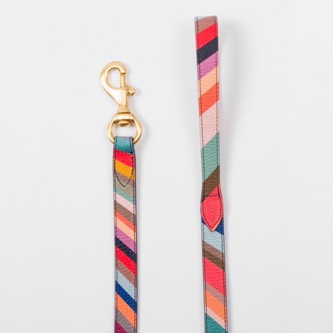 Paul Smith(ポールスミス)  Swirl Print Calf Leather Dog Lead