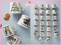 最安値保証★関送込【Anthro】Animal Alphabet Monogram Mug1点