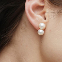 Saskia Diez(サスキアディツ) ピアス Saskia Diez☆PEARL POP EARRINGS / gold