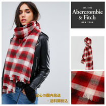 Abercrombie&Fitch☆チェックプリントスカーフ♪