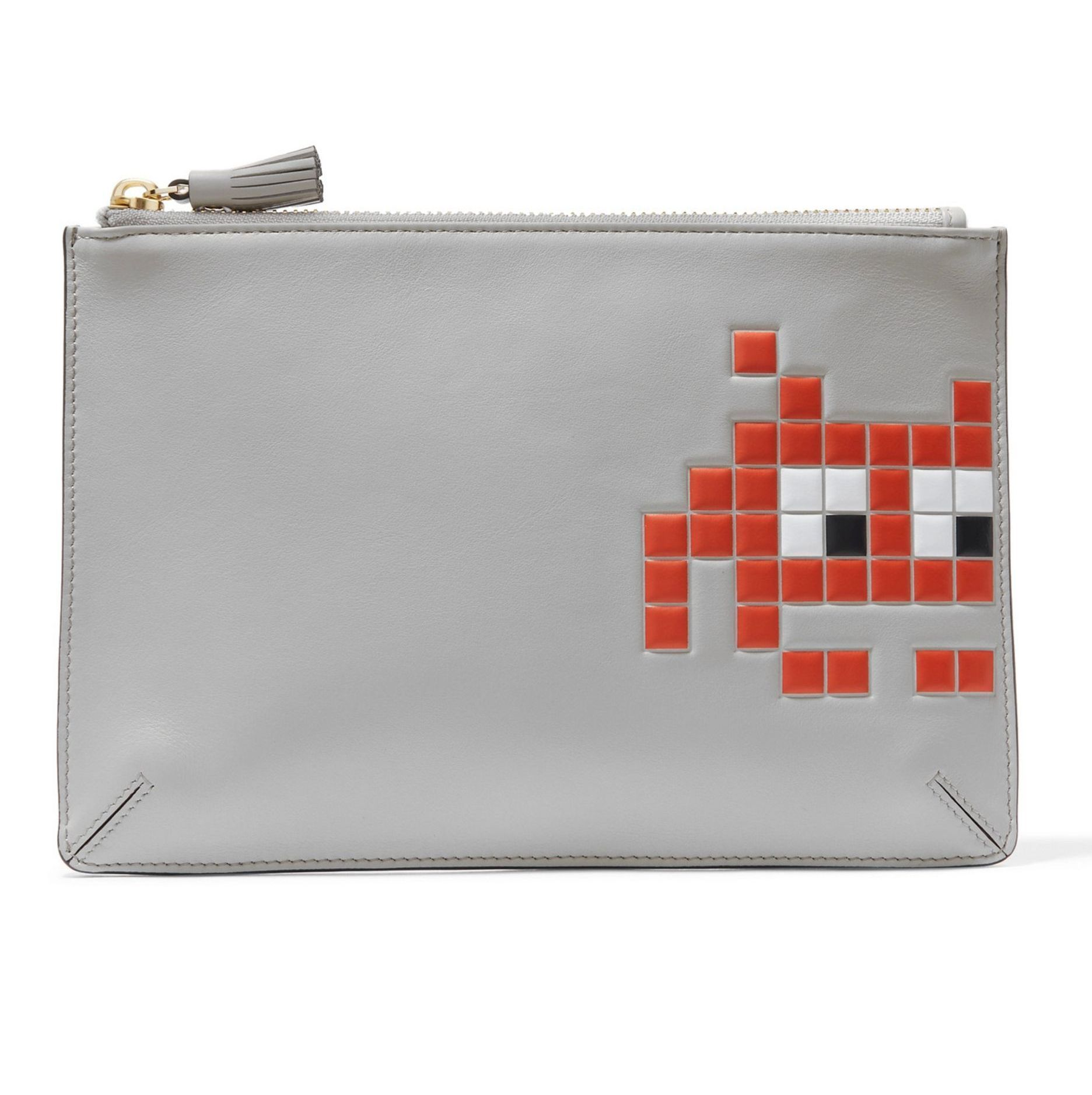 関税込・送料込☆Anya Hindmarch Space Invader Loose Pocket XL