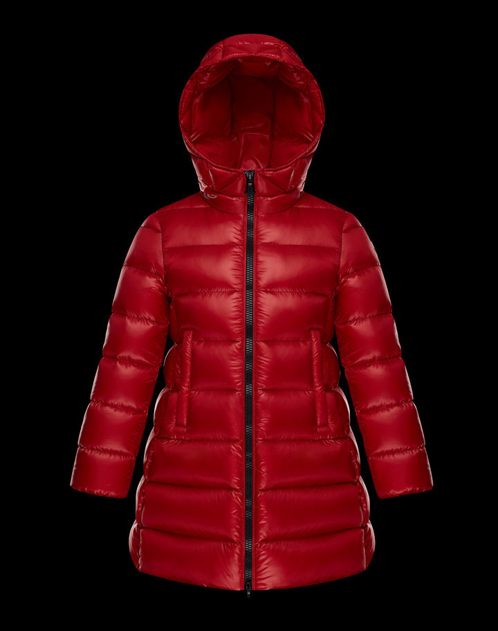 *17/18AW*大人もOK*MONCLER*SUYEN*レッド*14A*お早めに*
