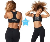 ZUMBA(ズンバ) スポーツその他 H30.1月新作☆【ZUMBA】Zumba Shine Scoop Bra(Black)Z1T01405