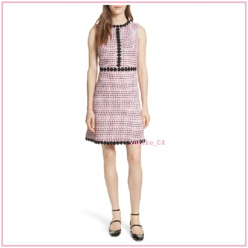 【国内発送】multi tweed A-line dress セール