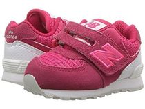 【SALE】New Balance 574 Hook and Loop Pink/White 12cm~16.5cm